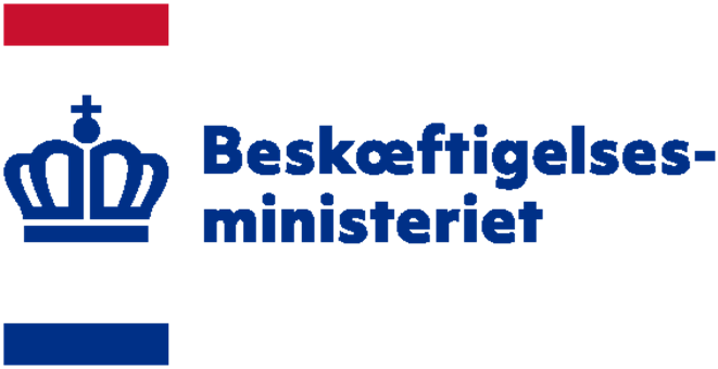Beskæftigelsesministeriet logo