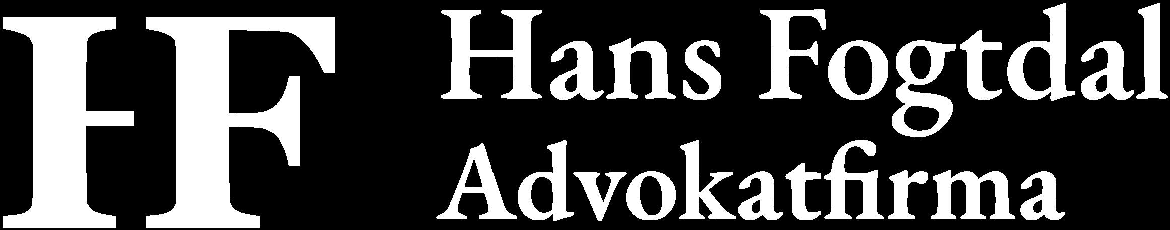 Hans Fogtdal Advokatfirma logo
